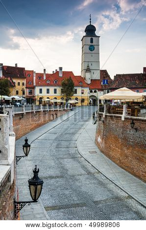 Downtown Of Sibiu, Transylvania
