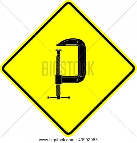 c clamp sign