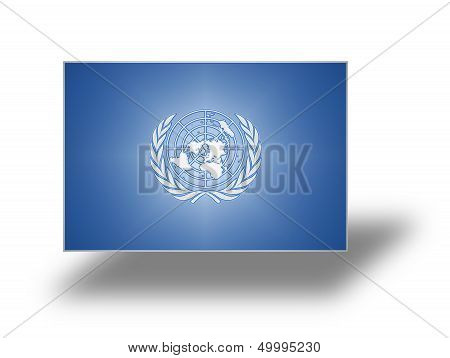 Flag Of The United Nations (stylized I).