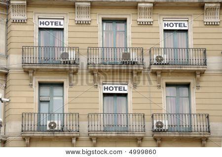 Hotel Building Facade