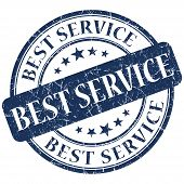 Best Service Blue Stamp