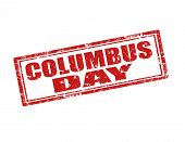 Columbus Day-stamp