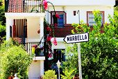 Sign For Marbella In Village