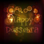 picture of dussehra  - Indian festival Happy Dussehra shiny background - JPG