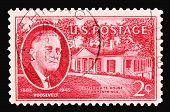 F D Roosevelt 1945