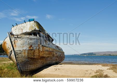Shipwrecked Boat