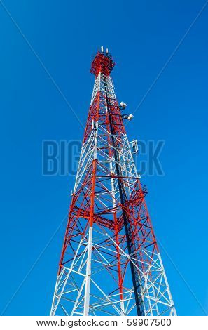Telecommunication Radio Antenna And Satelite Tower