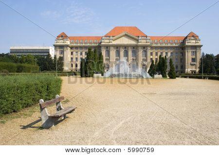 Main Entrance Of University