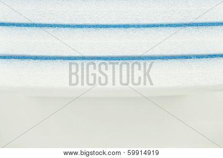 Solid Sponge Shockproof Blue Line Background