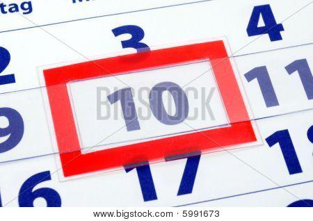 10 Calendar Day
