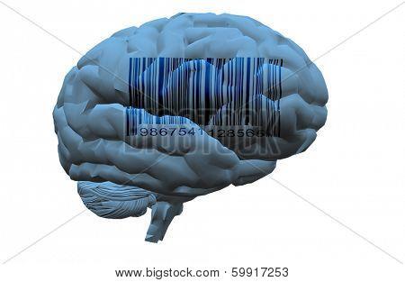 Barcode on brain