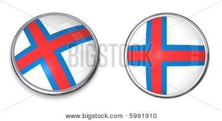 Banner Button Faroe Islands