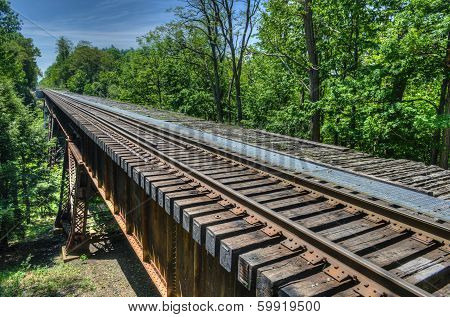 Railroad, Watkins Glen Bridge