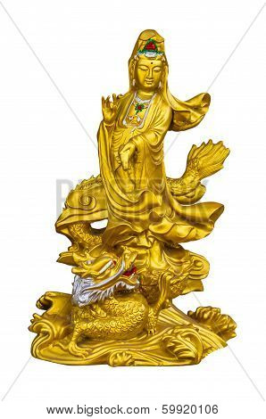 Golden Guan-yin