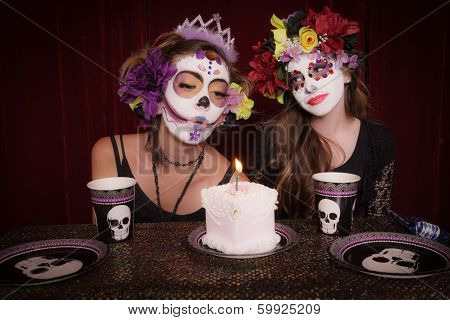 Day Of The Dead Birthday Party