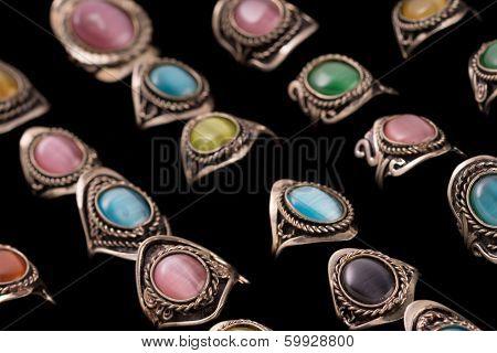 Peruvian Artisian Ring Collection