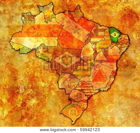 Ceara On Map Of Brazil