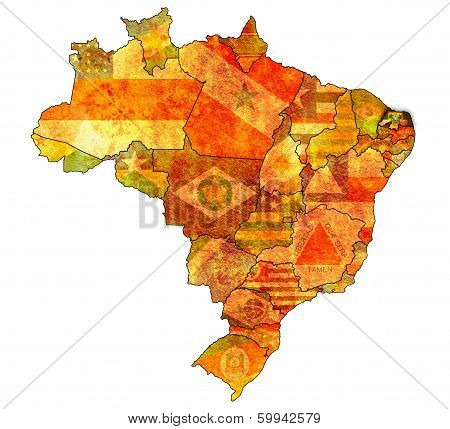 Rio Grande Do Norte On Map Of Brazil