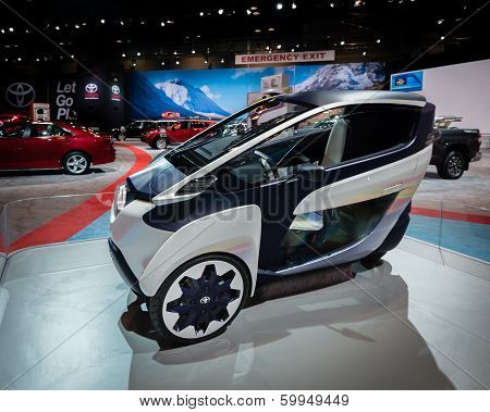 2014 Toyota i-Road Personal Mobility Vehicle Concept
