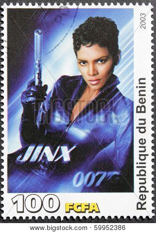 Halle Berry Stamp
