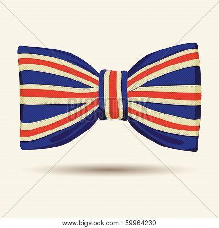 Britain flag bow-tie