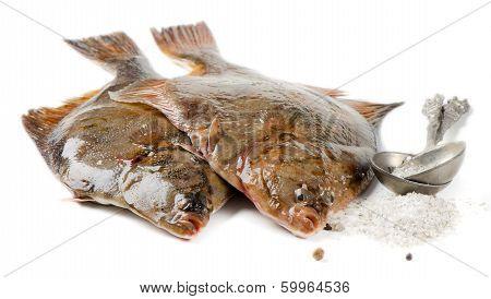 Flounder With Salt