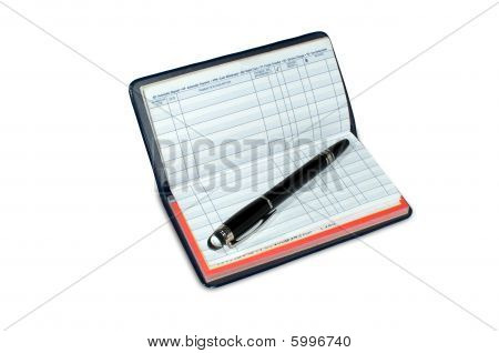 Checkbook Registry Blank