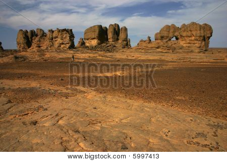 Rocks in sahara
