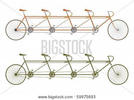Vintage Tandem Bike