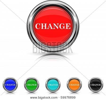 Change Icon - Six Colors Vector Set
