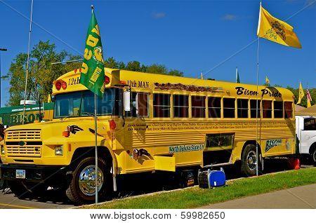 NDSU Bison Sports Bus
