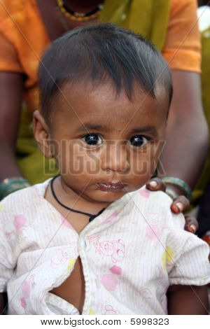 Baby In Poverty