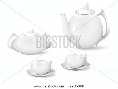 Crockery For Tea And Coffee