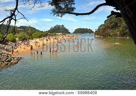 Kaiteriteri Beach Lagoon, New Zealand