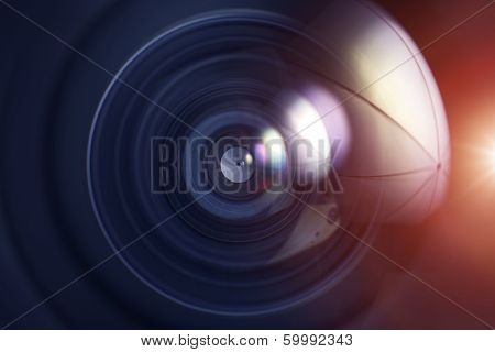 Photo Lens Background