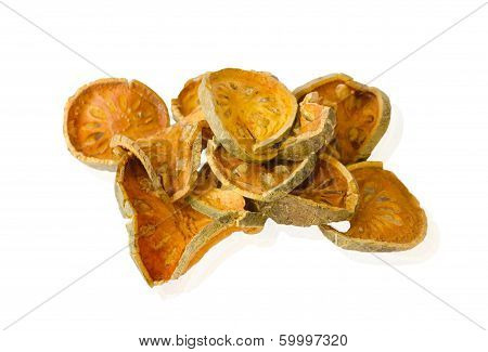 Bael Fruit Slices, Dried