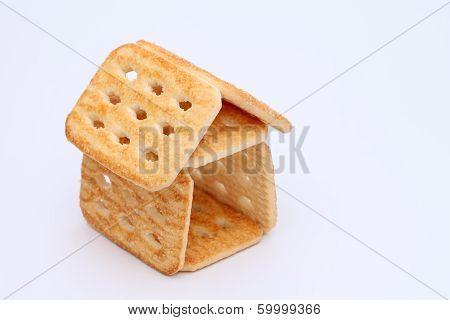 Sweet sugar cookies house