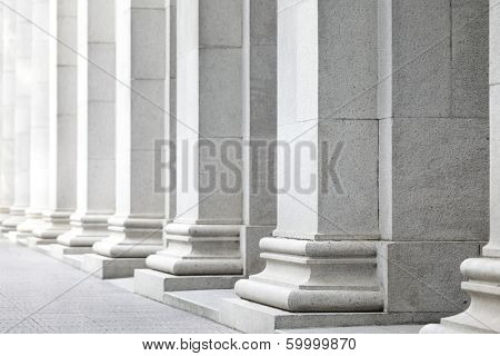 White pillar