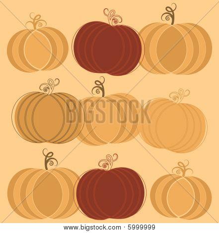Pumpkins Ornament