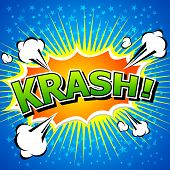 Krash! - Comic Speech Bubble, Cartoon 2.eps