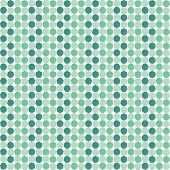stock photo of heptagon  - Illustration of pattern from geometrical green forms - JPG