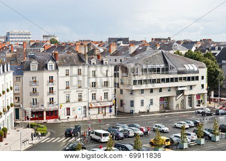 Place Du President Kennedy In Angers, France