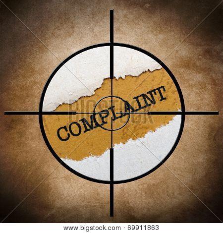 Complaint Target