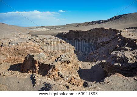 Valle De La Luna Near San Pedro De Atacama, Chile