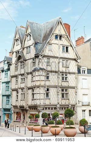 Adam's House On Place Sainte-croix, Angers, France
