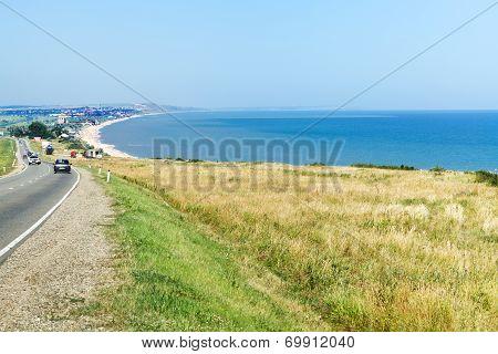 Resort Village Golubitskaya On Sea Of Azov, Russia