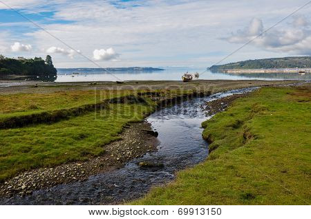 Sublime Creek, Chiloé Island, Chile