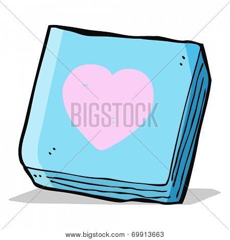 cartoon love notes