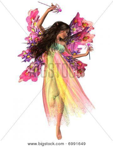 Hada de la flor Carnaval