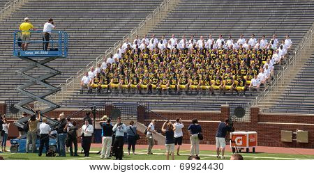 Michigan Football Team Photo